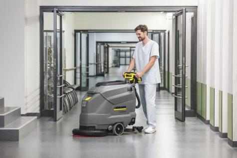 BD 50/50 Floor Scrubber