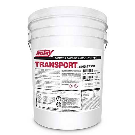 pressure washer detergent for transportation