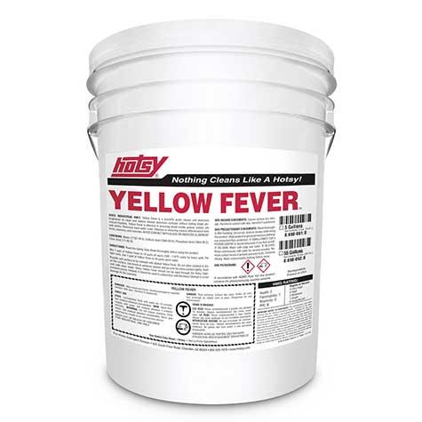 yellow fever pressure washing detergent